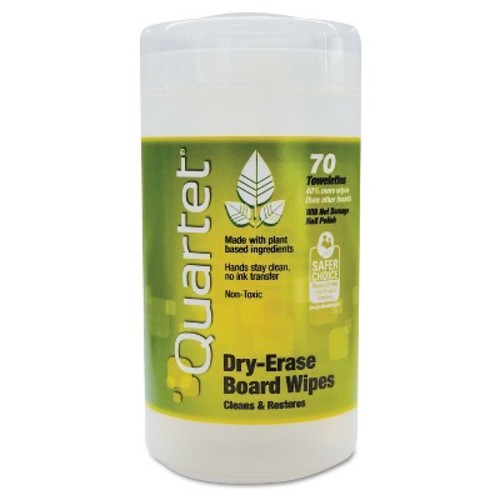 Quartet Cloth Dry Erase Wet Wipes (Tub of 50)