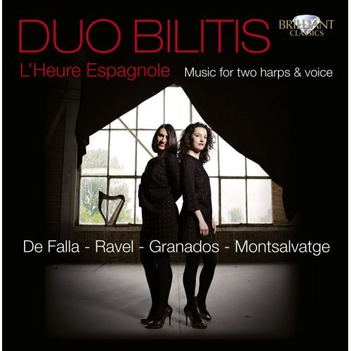 L' heure Espagnole: Music for 2 Harps & Voice [CD]