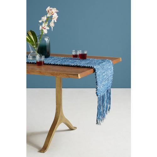 Tufted Indigo Table Runner [REGULAR]