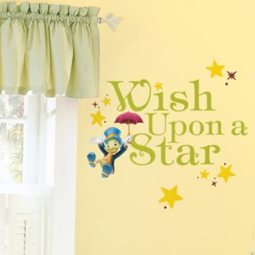 RoomMates Disney Wish Upon a Star Peel and Stick Wall Decals