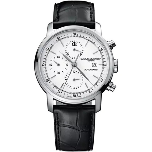 Baume & Mercier Men's MOA08591 Classima White Dial Watch