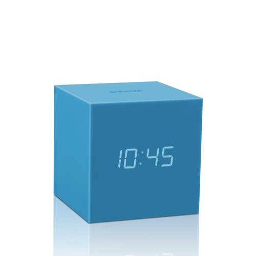 Gravity Click Clock - Sky Blue