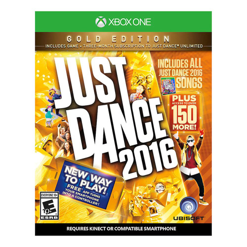 Xbox One - Just Dance 2016 Gold Edition