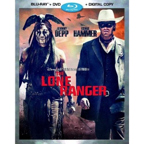 Lone Ranger (Blu-ray + DVD + Digital Copy)