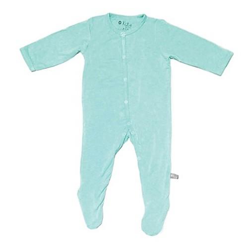Kyte BABY Newborn Footie in Aqua