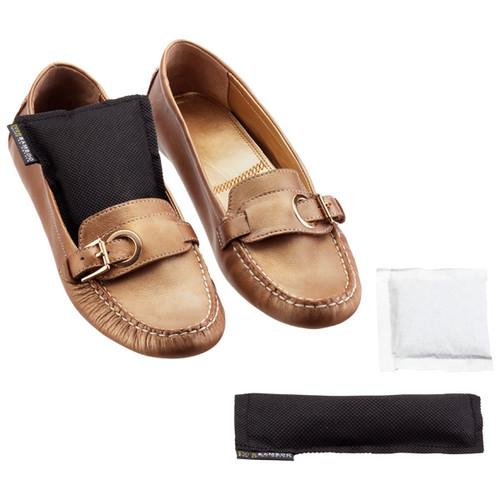 Bamboo Shoe Deodorizers Black Set of 2