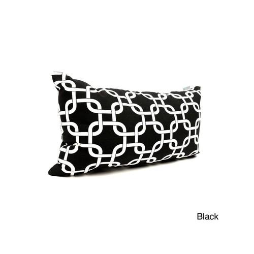 Links Small Pillow - Black