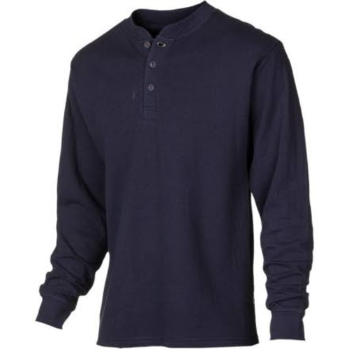 Mountain Khakis Trapper Henley Shirt - Long-Sleeve - Men's Navy