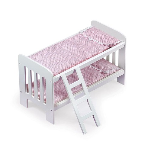 Doll Bunk Bed with Ladder by Badger Basket