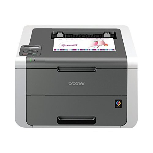 Brother Printer HL3140CW Digital Color Printer with Wireless Networking, Amazon Dash Replenishment Enabled [Printer]
