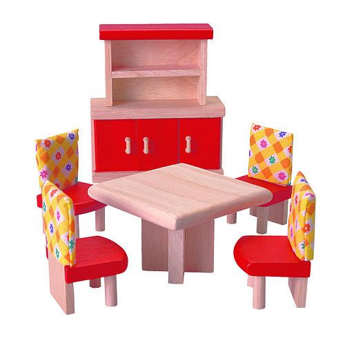 PlanToys Dollhouse Dining Room - Neo
