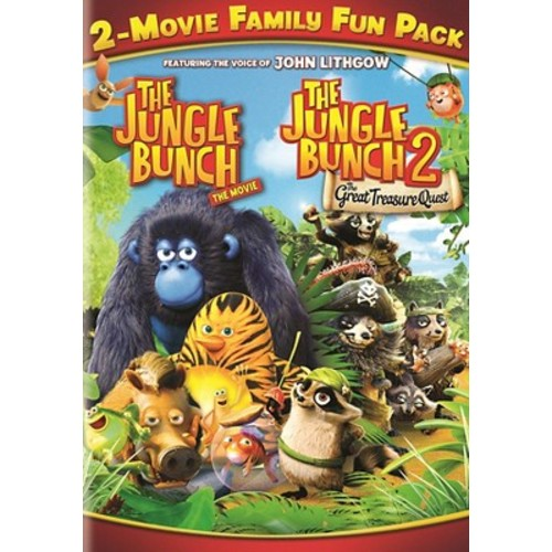 Jungle Bunch 2-Movie Family Fun Pack