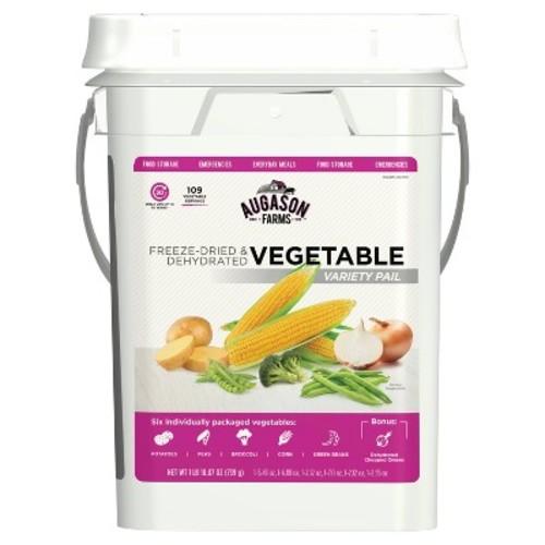Augason Farms Freeze Dried Vegetable Variety Pack Kit - 26oz Pail