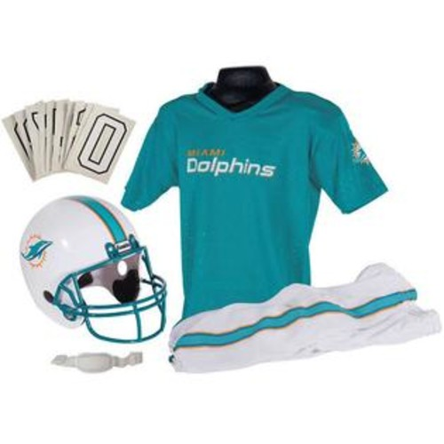 Franklin Sports NFL Dolphins Uniform Set - Medium