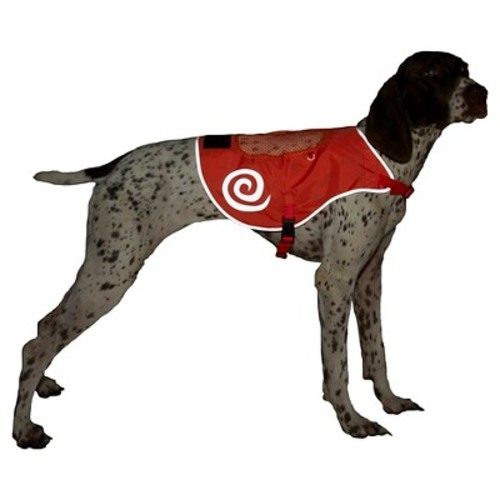 Ultra Paws Reflective Pet Safety Vest Dog Costume - Red