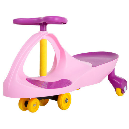 Lil' Rider Wiggle Car Ride-On - Pink and Purple