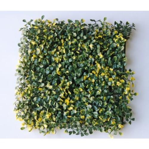 Greensmart Decor Artificial Leaf Ficus Gold Wall Decor (Set of 4)
