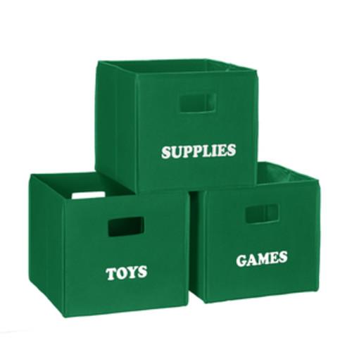 RiverRidge Home Products Decorative Storage & Organizers RiverRidge Folding Storage Bin with Label