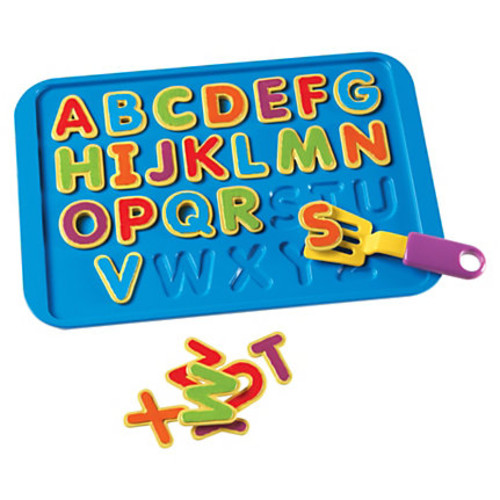 Learning Resources ACB Alphabet Cookies Puzzle - Skill Learning: Alphabet, Word Recognition, Fine Motor - 28 Pieces