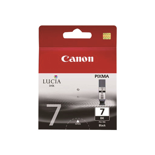 Canon PGI-7 Pigment Black Ink Cartridge - Canon - 2444B002