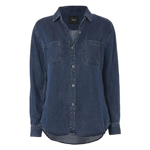 RAILS Dark Vintage Button Down Shirt