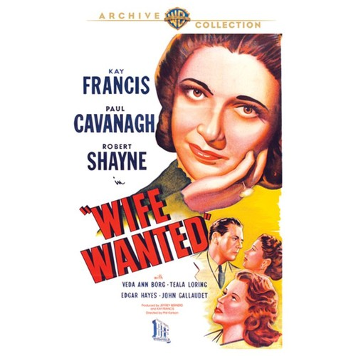 Wife Wanted [DVD] [1946]