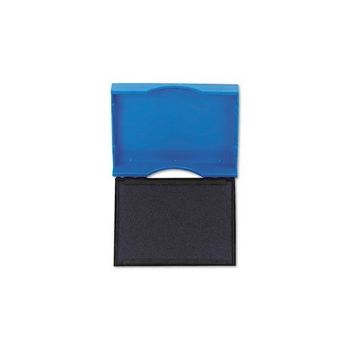 Trodat T4750 Stamp Replacement Pad, 1 x 1-5/8, Blue