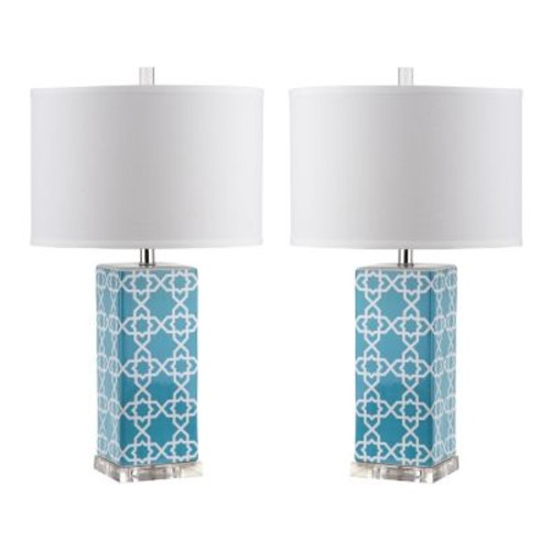 Quatrefoil Table Lamps by Safavieh