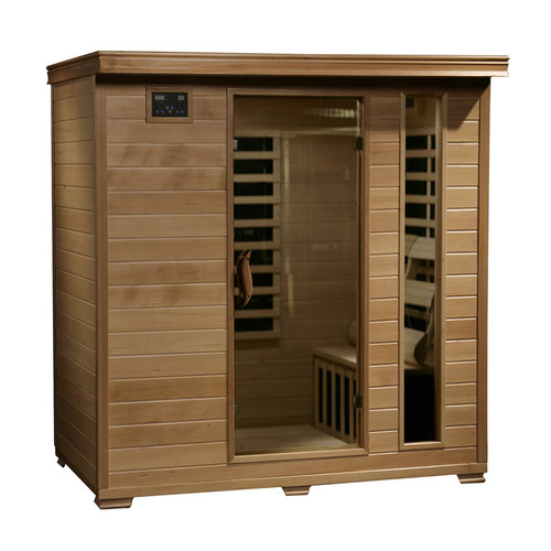 Radiant Saunas 4 Person Carbon FAR Infrared Sauna - BSA2418