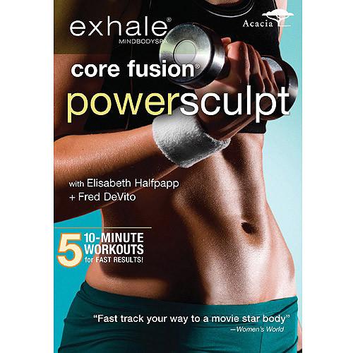 Exhale: Core Fusion Power Sculpt [DVD] [2011]