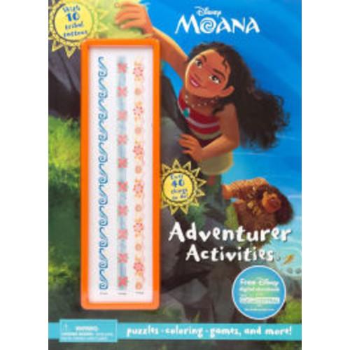 Disney Moana Adventurer Activities