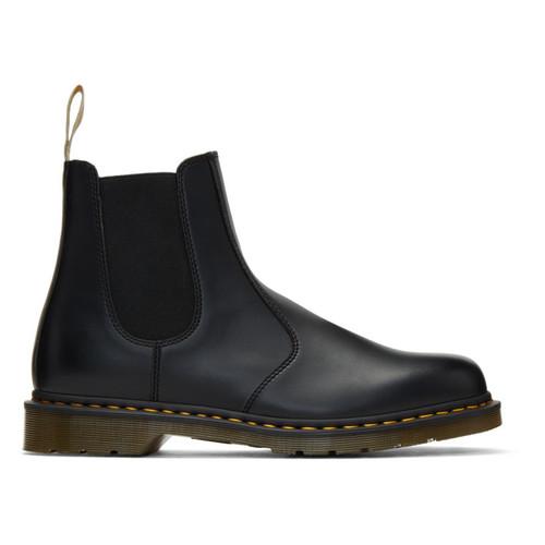 Black Vegan 2976 Chelsea Boots