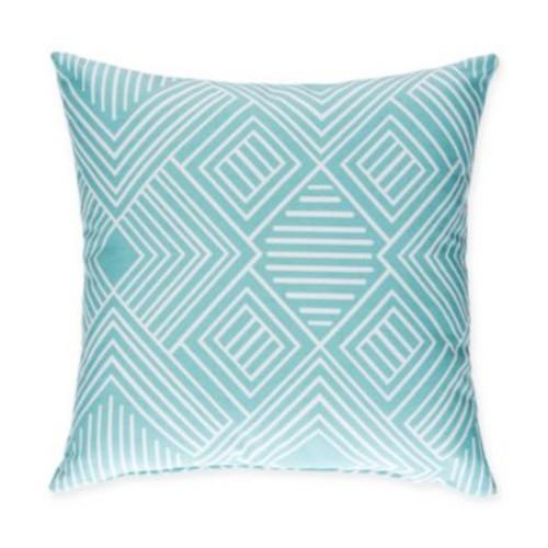 Glenna Jean Soho Throw Pillow in Aqua