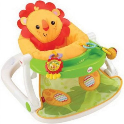 Fisher-Price Infant Sit Me Up Floor Seat with Tray (CBV48)
