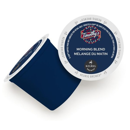 Timothy's World Coffee Morning Blend K-Cup Portion Pack