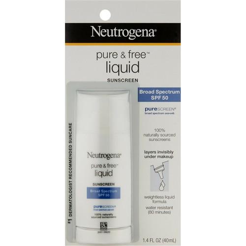 Pure & Free Liquid SPF 50