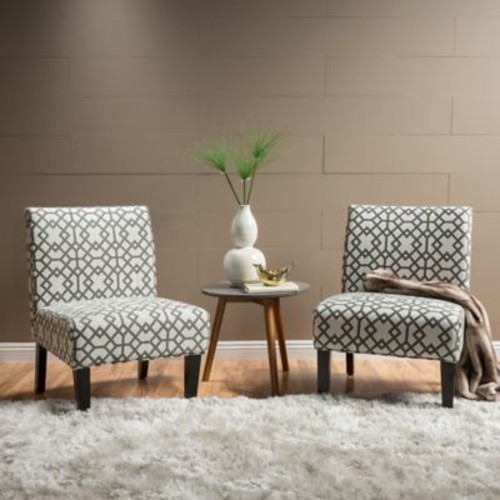 Highland Dunes Veranda Slipper Side Chair (Set of 2)