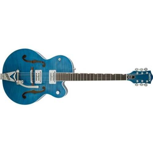 Gretsch G6120SH Brian Setzer Hot Rod Guitar, Harbor Blue 2-Tone 2400115891