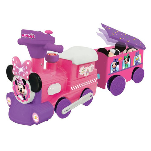 Disney Minnie Mouse Ride-On Motorized Train With Track