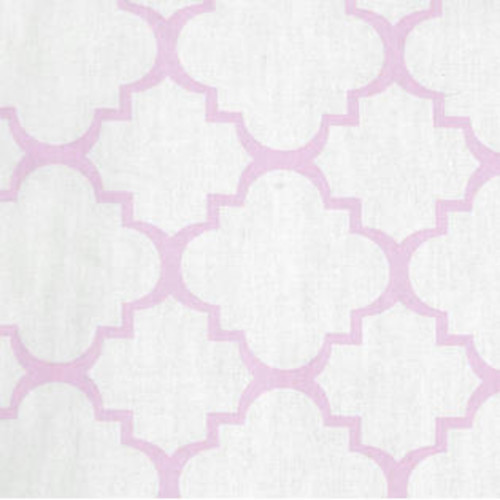 Trend Lab Baby Diaper Orchid Bloom Quatrefoil Changing Pad Cover