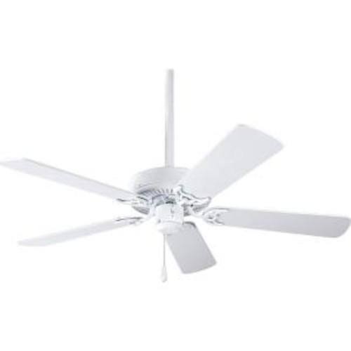 Progress Lighting AirPro Builder 42 in. Indoor White Ceiling Fan