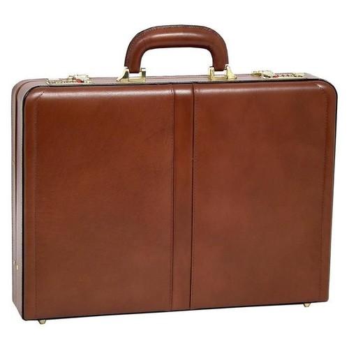 McKlein McKlein Reagan Leather Attache Case