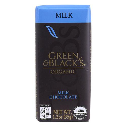 Green & Black's Organic Milk Chocolate Bar -- 1.2 oz