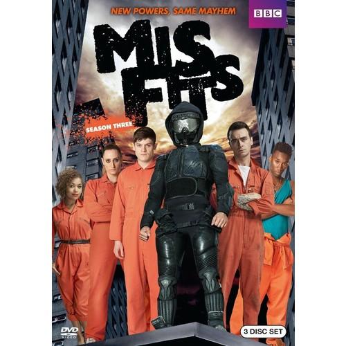 Misfits: Season Three [2 Discs] [DVD]