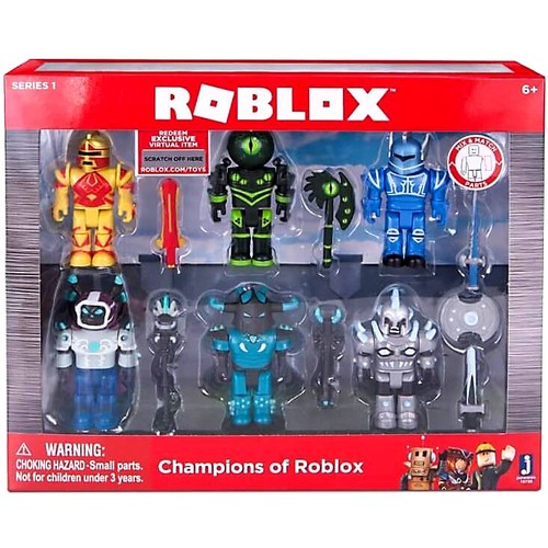 Roblox Series 1 Action Figure Set - Champions of Roblox