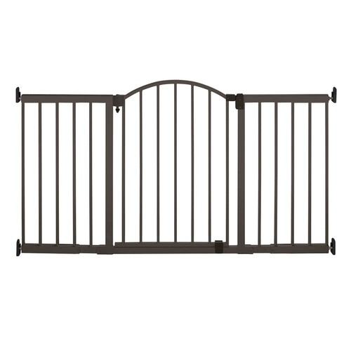 Summer Infant 6 Foot Wide Extra Tall Metal Expansion Gate - Bronze