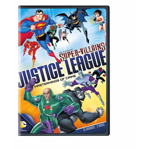 DC Supervillains Justice League: Masterminds of Crime: Various: Movies & TV