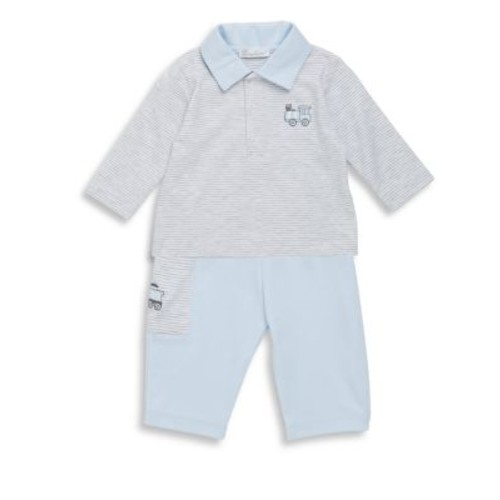Baby's Two-Piece Freight Train Top and Pants Set