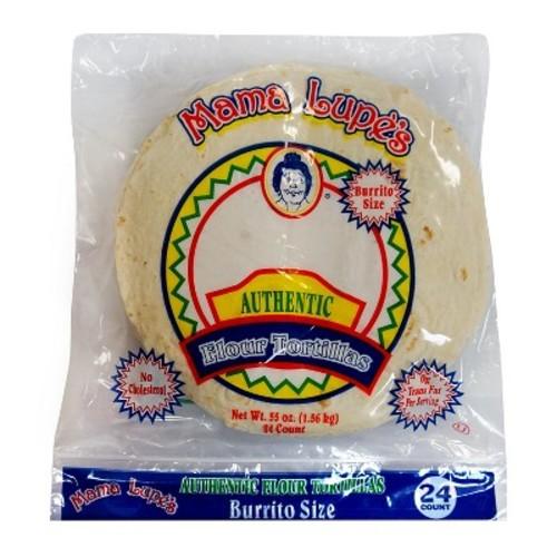 Mama Lupes Flour Burrito Value Pack 24 ct