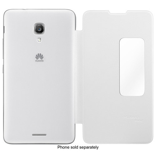 Huawei - Case for Huawei Ascend Mate 2 Cell Phones - White